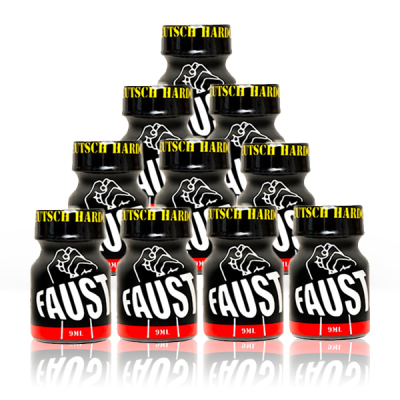 Lot 10 poppers Faust 9 ml