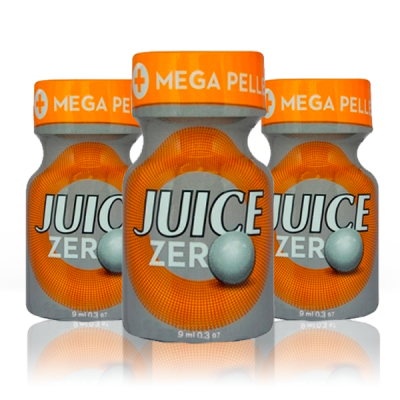 Pack 3 Poppers Juice Zero