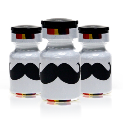 Pack 3 Poppers Moustache