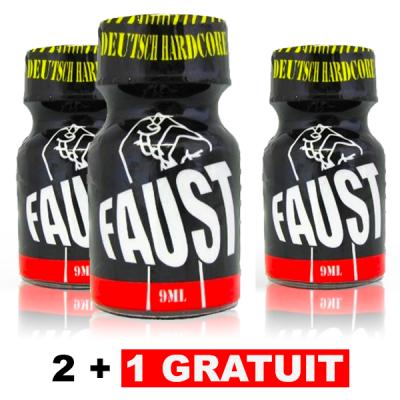 3 Poppers Faust dont 1 Gratuit