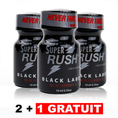 Lot 3 Super Rush Black...