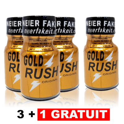 Lot 4 Gold Rush dont 1 Gratuit