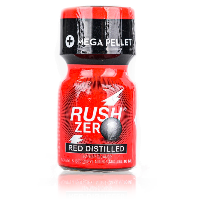 Rush Zero Red Distilled 10ml - Détente anale absolue