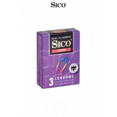 3 préservatifs Aromatisés -...