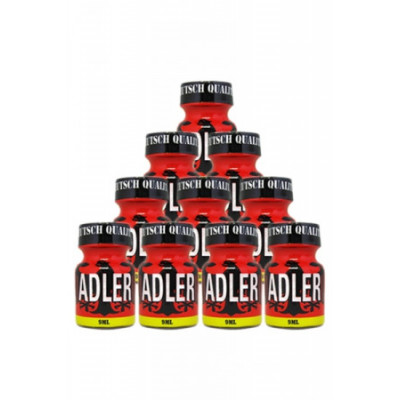 Poppers Adler 9ml - Lot de 10